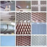 Aluminium Expanded Mesh/Expandable Sheet Metal Diamond Mesh