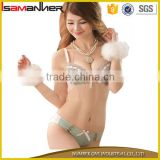 Sexy lady push up bra hipser panty hot designer sexy fancy bra panty set                                                                                                         Supplier's Choice