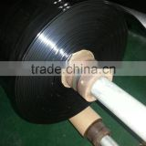 Black polyethylene sheeting roll