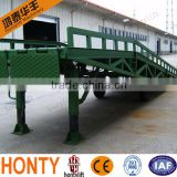 6T CE-approved for loading and unloading container hydraulic car ramps for sale