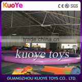 big inflatable 0.9mm pvc tarp pool, commercial used inflatable swimming pool, round custimzed size pool inflatable