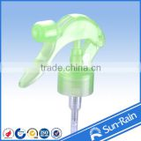 yuyao sunrain plastic triger sprayer 28/410 for bottle