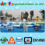 funny summer water games, inflatable pool slide games, inflatable water park games