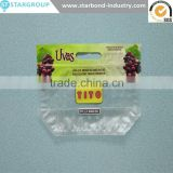 Plastic ldpe Grape Bag/perforated Bag/slider Ziplock Grape Bag with zipper top