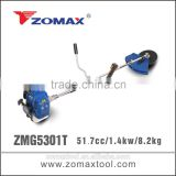 gardening tool 53cc ZMG5301T gasoline brush cutter 1e40f-5 for carburetor adjustment trimmers