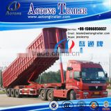 Africa Style 3 Axles 50CBM Front Tipping Trailer