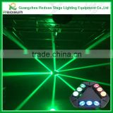 LED 3*3 spider light 8pcs*10w RGBW 4IN1 charming stage /party/club/party/christmas/house decor concert dj moving head light