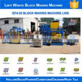 China Wante Brand Block Machinery QT4-25 Cement Bricks Molding Machine cement And Concrete Block Making Machine                                                                         Quality Choice
