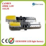 Top popular Guangzhou car led lighting manufacturer T10 W5W 194 168 501 921 161 led light trunk light