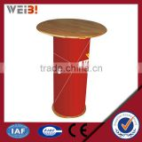 Popup Advertising Stand Restaurant Table Display