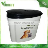 H507 4KG 10liter Hot sales pet food PP plastic container for storage                                                                         Quality Choice