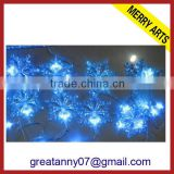 unusual blue led christmas snowflake icicle light cheap sale xmas lighting made in china