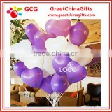 Heart-shaped thickening wedding latex balloon                                                                                                         Supplier's Choice