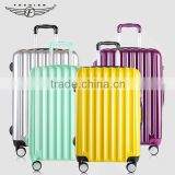 Women and Men Bright Color Trolley Handle PC Travel luggage                                                                         Quality Choice