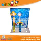 Promotion bubble toy mini cartons lovely bubble wand for kid
