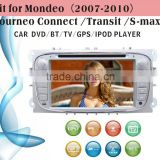 car dvd vcd cd mp3 mp4 player fit for Ford Mondeo 2007 - 2010 with radio bluetooth gps tv