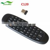 For Android Google TV BOX C120 2.4GHz G Mouse II Remote T10 Rechargeable Wireless Fly Mouse Keyboard