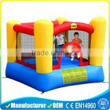 Mini Bounce House Moonwalk Bouncers With Logo Printing