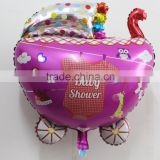 Wholesale helium baby carriage pushchair pram foil balloon
