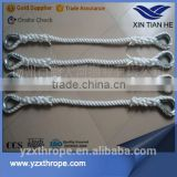 Marine use nylon fall proof lifeboat safety rope fall protection