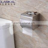 2016 304 Stainless steel bathroom accessory double fushion with ashtray toilet paper holder