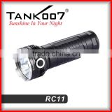 INquiry about most powerful 3 led 3000lm rechargeable flashlight with 3 18650 battery flashlight RC11