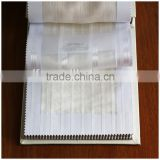 Newest 100% polyester fire retardant sheer window fabric XJSY 0240