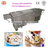 Factory supply 2+10 flat pan Thailand fried ice cream roll machine price for sale                                                                         Quality Choice
