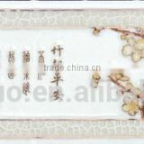 FOSHAN bamboo painting paterrns inkjet polished porcelain wall tile series SA9544Y1D 70x300mm