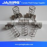 Stainless steel 304 316 Spring Nut for U channel fixing