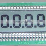High quality 4 inch 7 segment display , lcd watch module