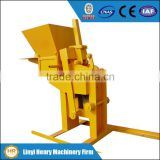 INQUIRY ABOUT HR1-30 manual interlocking brick making machine hand press clay brick machine low cost sand soil brick machinery
