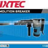 FIXTEC 1100W high quality china power tools demolition breaker hammer drill with spare parts
