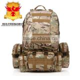 50L Camo Trekking Bag Military Camping sports backpack bag