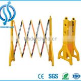Portable Traffic Safety Folding Plastic Barrier can filled water
