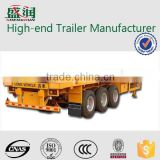 3 Axle Container Trailer For 1*40FT Or 2*20FT Container Transport/High Quality Truck Semi-trailer Sales