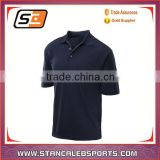 stan caleb wholesale high quality promotional black polo shirt oem plain men's polo shirt