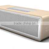 Christmas Gift!! premium bluetooth 4.0 wireless aluminum 15w speaker mini music boom cube portable speaker with nfc