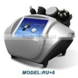 Ultrasonic Weight Loss Machine Cavitation And Rf Beauty 10MHz Equipment RU+6 Body Slimming Machine
