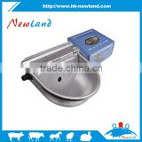 2016 new type cow pig horse nylon and stainless steel water bowl auto drinking bowl with valve float