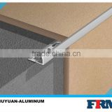 extruded aluminium profile for ceramic tile corner trim