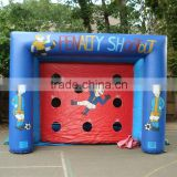 hot sell ! inflatable soccer darts game / inflatable sports game / inflatable football toss