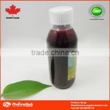 Gmp Certificated Herbal Cough bottle Syrup With Factory Price