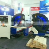 Double End Tenoner Flooring making machine