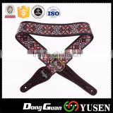 Digital Printing Leather End Guitar Strap