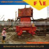 high quality pile driving machine foundation construction machinery excavator mounted vibratory pile hammer