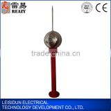 Inductor Current Limit Ball Lightning Rod/ China Gold Manufacturer Cheap Price High Quality