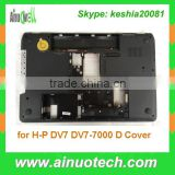 Notebook replacement parts laptop D cover for HP DV7 DV7-7000 basic shell A/B/C/D cover hinge touch pad speaker fan