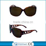 Brightlook 2015 newest CE&FDA brown lense with demi frames colorful sunglasses