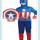 Children's Halloween Costumes Boys Captain America Costume Kids Cosplay Steve Rogers Costume